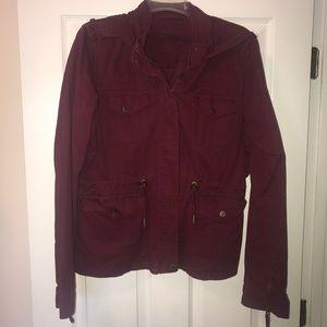 Aeropostale burgundy jacket